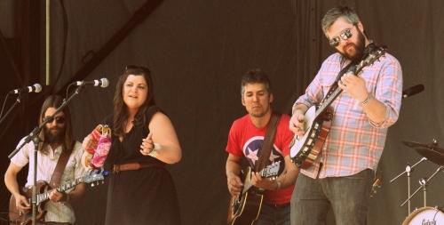 Pryor, Brady, Contreras, and touring member Matt Menefee