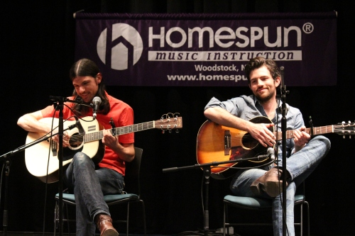 Seth and Scott Avett